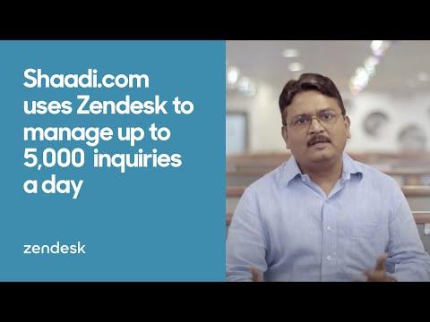 Zendesk Customer Story:  Shaadi.com