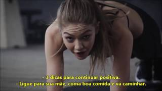 Abdominais com Gigi Hadid [LEGENDADO PT/BR]
