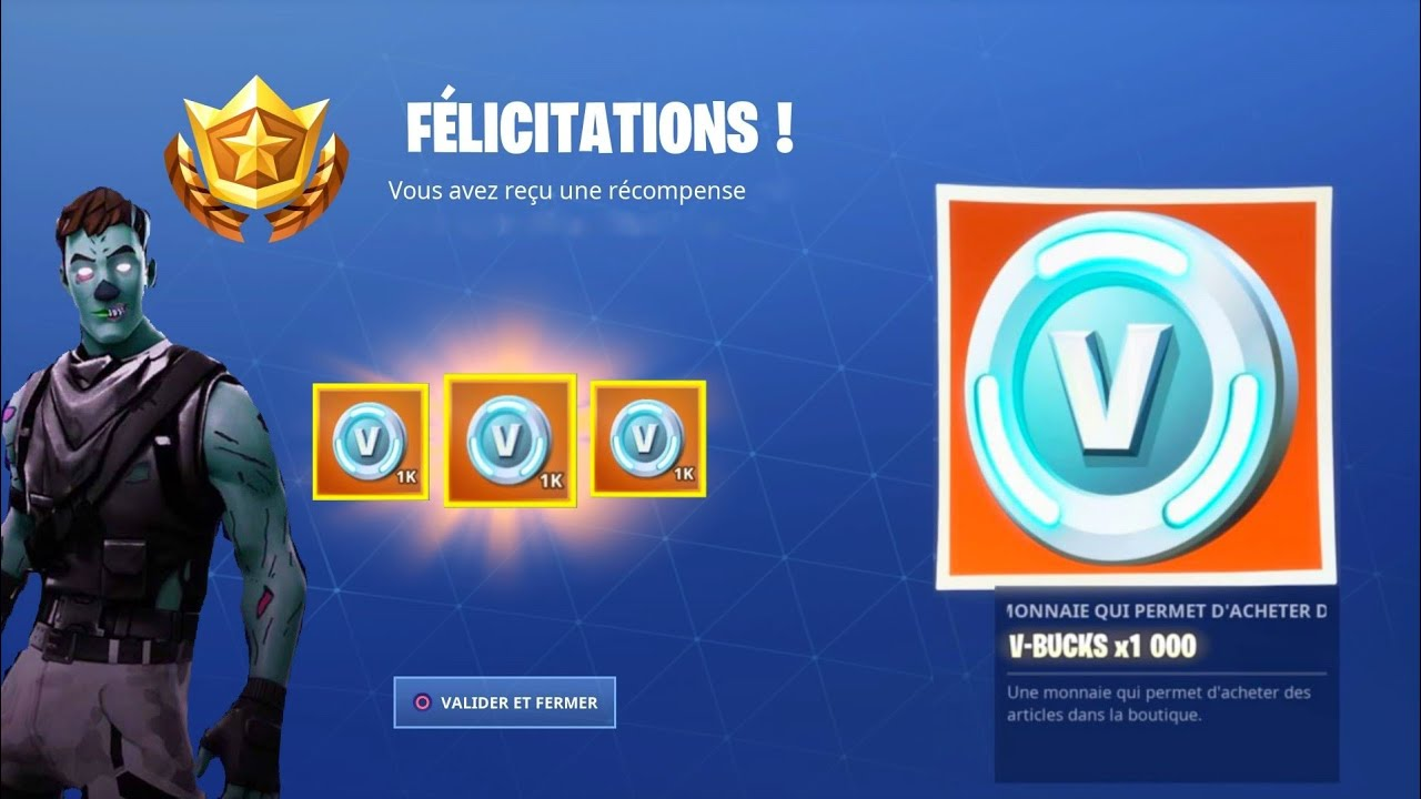 Vbucksquot Fortnite Videos - vite obtenir 3 000 v bucks en 5 minutes sur fortnite avant la saison 9 free v bucks