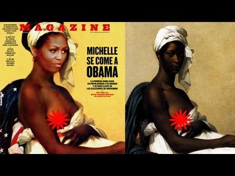 Fotos de desnudos de Michelle Obama filtradas en