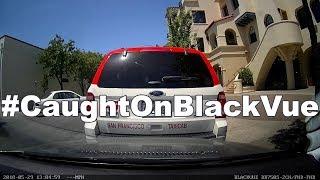 Accident in Parking Mode #CaughtOnBlackVue