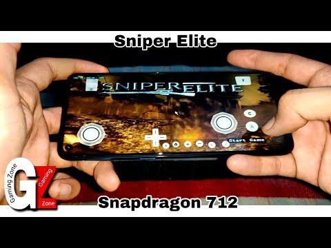 Sniper Elite Gameplay In Vivo Z1 Pro | SD712 | Dolphin MMJ