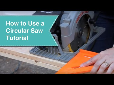 ozito circular saw how to use