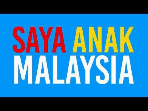 Saya Anak Malaysia [Official Lyric Video]