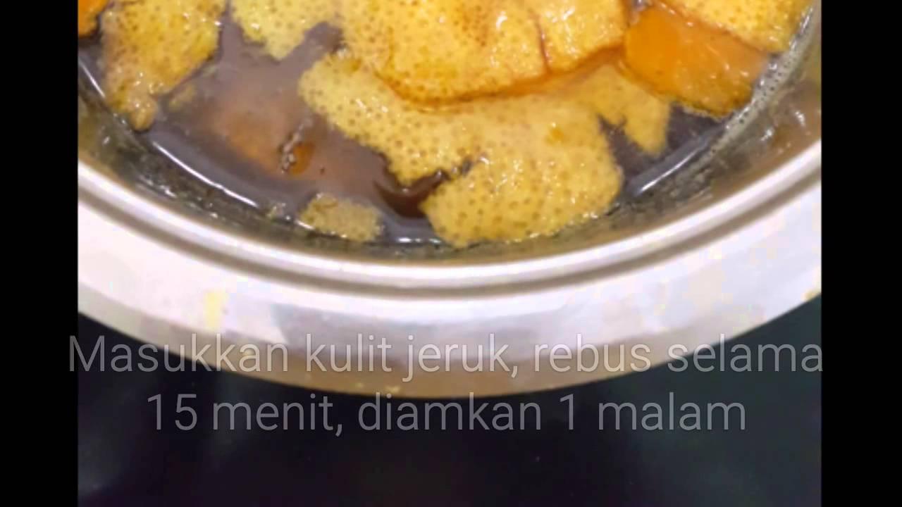 Resep Manisan Kulit Jeruk Mandarin