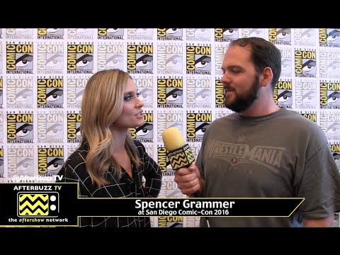 Spencer Grammer Rick and Morty at San Diego Comic Con 2016