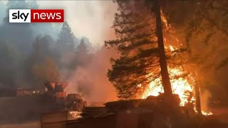 Trump declares state of emergency, as California is ravaged by 500 wildfires