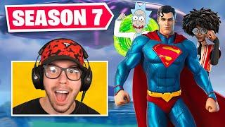New *SEASON 7* BATTLE PASS in Fortnite! (SUPERMAN)