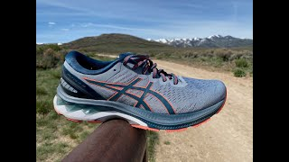 ASICS GEL-Kayano 27 Video Review: Polished, Smooth, Comfort, Protection, & Durability.