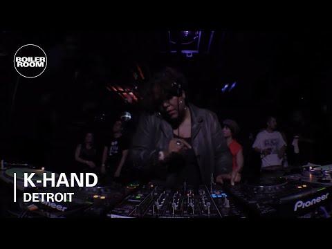 K-HAND Boiler Room Detroit DJ Set