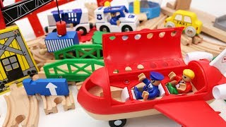 Building Toys for Children Toy Train, Airplane, Toy Cars for Kids