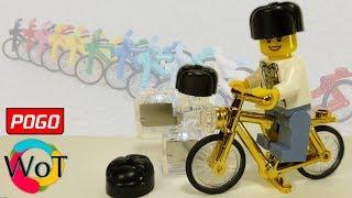 Обзор Лего Шапки Ушанки, Золотой Велосипед, Кубики с подсветкой