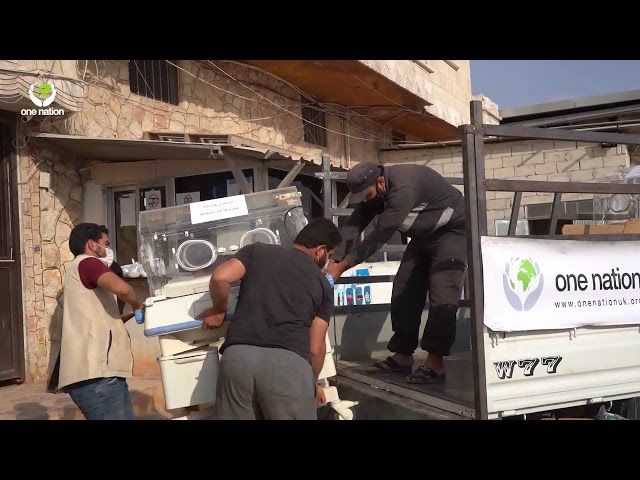 Leicester To Syria ~ Baby Incubators Distribution
