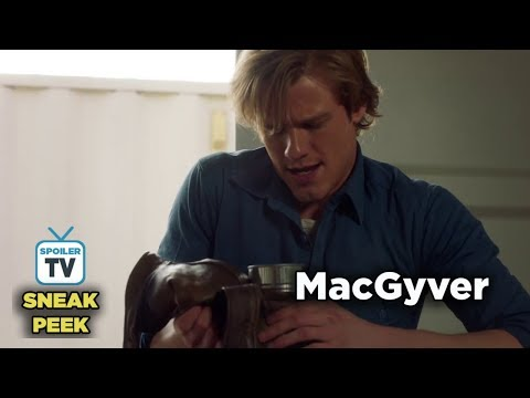 "MacGyver 3x15 Sneak Peek 1 ""K9 + Smugglers + New Recruit"""