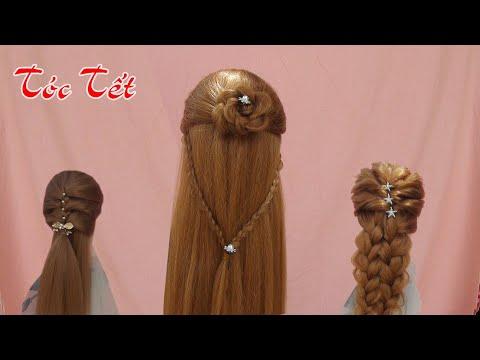 Những mẫu tóc tết Kiểu Hàn Quốc Xinh Xinh/Beautiful braided hairstyles
