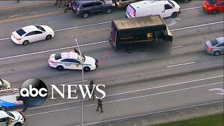 High-speed chase ends in deadly shootout l ABC News