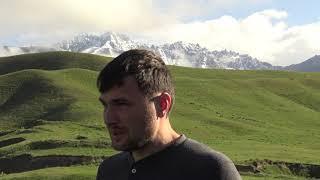 Средняя Азия и Памирский тракт. Путешевствие на внедорожнике Соболь 4х4. Газель в горах.