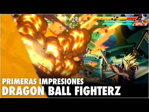Primeras Impresiones DRAGON BALL FIGHTER Z BETA