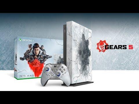 Консоль Xbox One X ограниченной серии.
