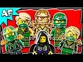 Lego Ninjago Lloyd GREEN NINJA Minifigures Complete Collection の動画、YouTube…