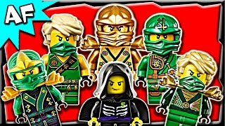 Lego Ninjago Lloyd GREEN NINJA Minifigures Complete Collection