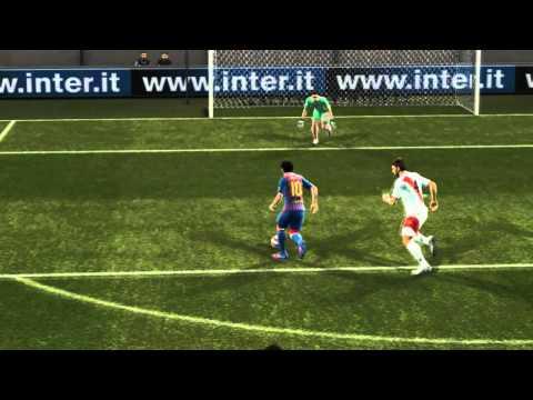 PES 2012 Lionel Messi Dribbles Compilation//Leo Messi Dribbles y Gambetas