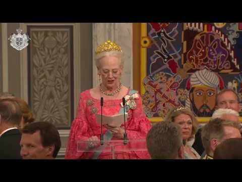 H.M. Dronningens tale til H.K.H. Kronprinsen