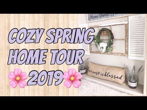 COZY SPRING HOME TOUR // FARMHOUSE DECOR