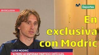 Luka Modric: Perú, la Champions League y más en diálogo exclusivo con Movistar Deportes