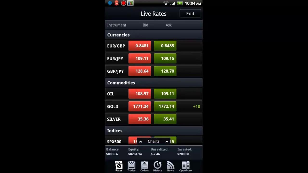 Forex app cash
