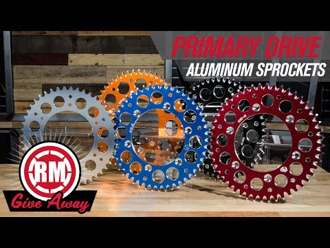 Primary Drive Aluminum Sprocket Giveaway