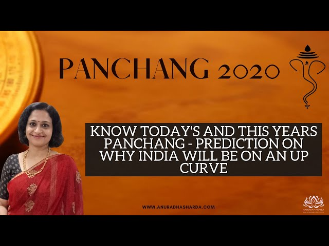 Know Today's and This Year's Panchang - Prediction on Why India will be on an Up Curve