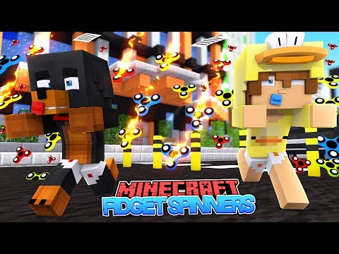 WATCH OUT FOR THE FIDGET SPINNERS - Minecraft Modded Gameplay