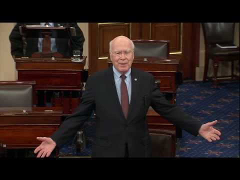 Leahy Tribute To Vice President Biden