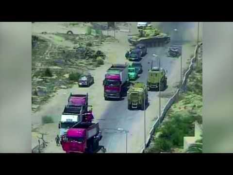Un char écrase une voiture pour éviter un attentat en Egypte