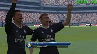 Pro Evolution Soccer 2015 Gameplay - (High Settings) (940MX 60FPS) (PC HD) (2018)