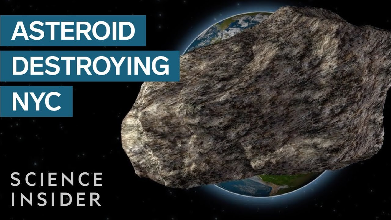 How Big An Asteroid Needs To Be To Wipe Out NYC