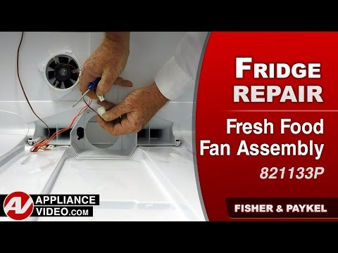 Fisher & Paykel Refrigerator Evaporator Fan Assembly - Repair & Diagnostic