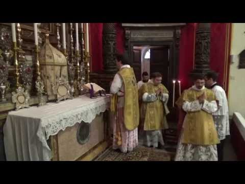Solemn Mass in the Extraordinary Form