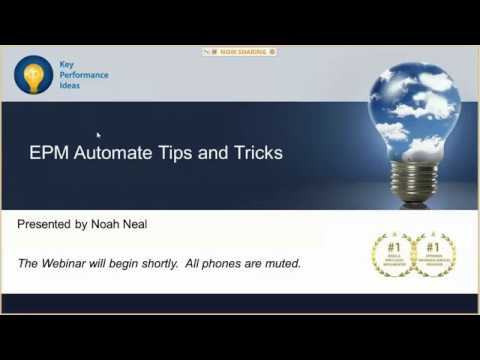 Oracle EPM Automate- Tips And Tricks