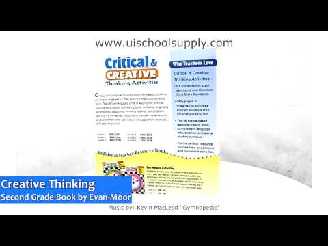 Critical & Creative Thinking Activities Grade 2 Book by Evan-Moor EMC3392