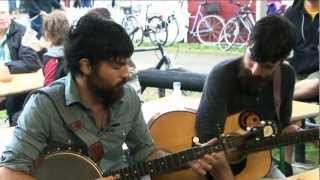 the avett brothers interview i miss a lot of trains 2 from tnder festival aug 27th 2011