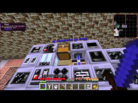 Automated Ore Processing with Type Filters - Minecraft
