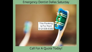 Emergency Dentist Dallas Saturday | Dallas Emergency Dental Care