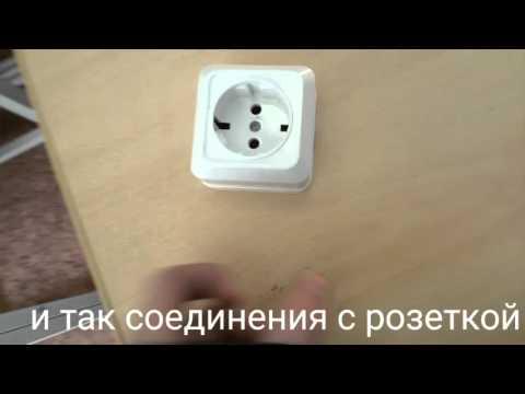 Схема подключения выключателя Подключение одноклавишного