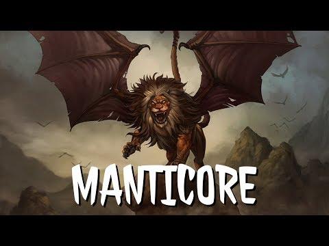 MF #13: The Manticore [Persian Mythology]