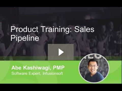Sales pipeline training recording featuring the Amazing Abe Kashiwagi