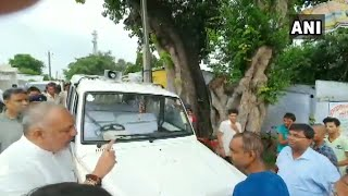 BJP MP Giriraj Singh reprimands bureaucrat over bias in flood relief charge