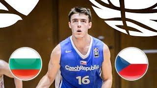Bulgaria v Czech Republic - Full Game - Class. 5-8 - FIBA U20 European Championship Div B 2018