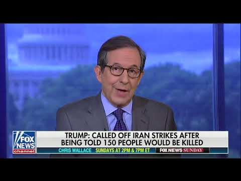 Chris Wallace invokes Obama to criticize Trump on Iran